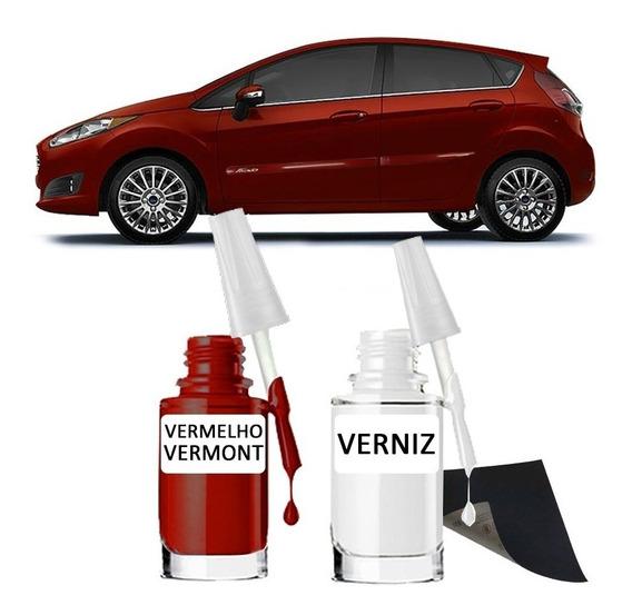 Tinta Tira Risco Automotiva Ford Vermelho Vermont 15ml