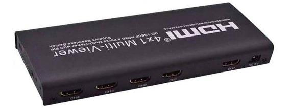 Hdmi Multi Viewer Switch Hdmi 4x1 1080p 3d Multiviewer