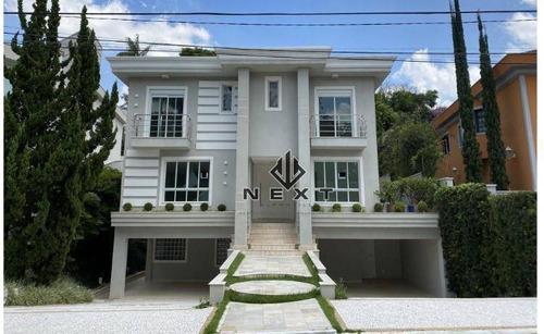 Imagem 1 de 25 de Casa Com 4 Suítes À Venda, 600 M² No Alphaville Residencial 1 - Barueri/sp - Ca0703