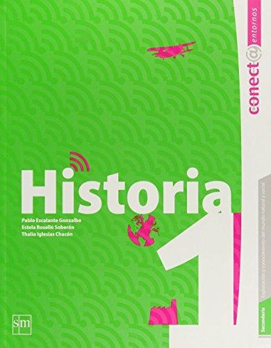 Libro Secundaria: Conect@ Entornos. Historia. Vol. 1
