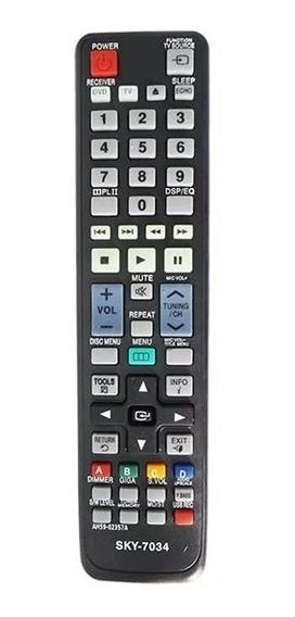 Controle Home Samsung Ah59-02357a Ht-d450k Ht-d550k Sky-7034