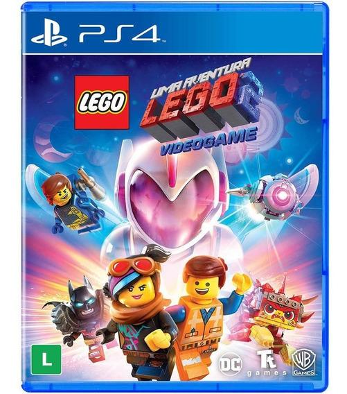 Uma Aventura Lego Movie 2 Ps4 - Jogo Mídia Física Em Português