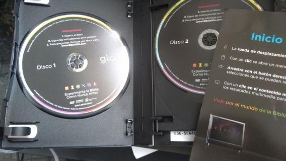 Bíblia Interativa Glow 4 Volumes Com Mapas E Imagens Sbb