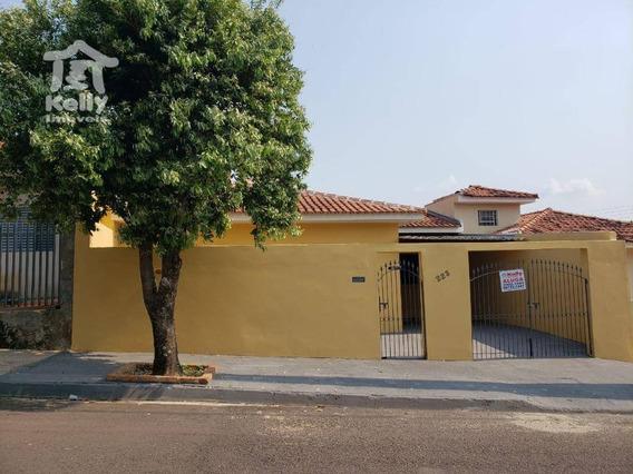 Casa Com 3 Dormitórios Para Alugar, 100 M² Por R$ 950/mês - Jardim Santa Fé - Presidente Prudente/sp - Ca0807