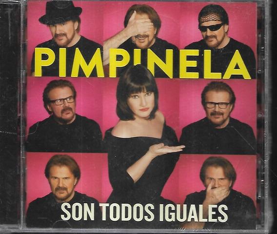 Pimpinela Album Son Todos Iguales Sello Sony Cd Nuevo Cerrad