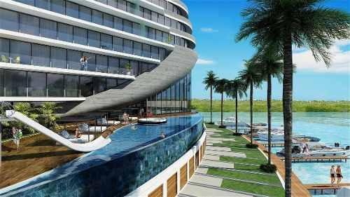 Venta De Departamento En Cancún, Zona Hotelera Shark Tower.