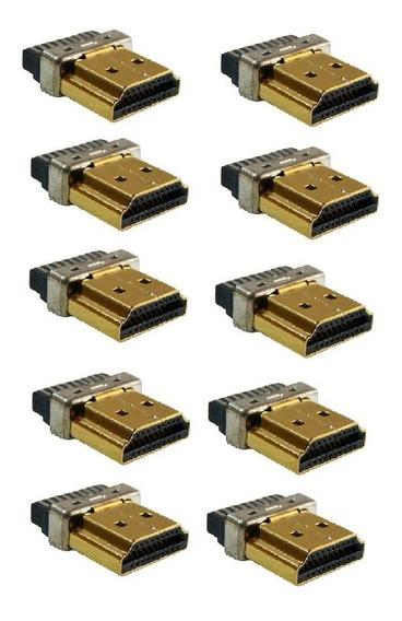 10 Conector Hdmi Para Solda