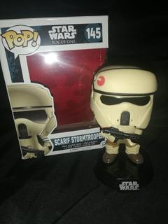 Figura Scarif Stormtrooper Funko Pop Sin Insert