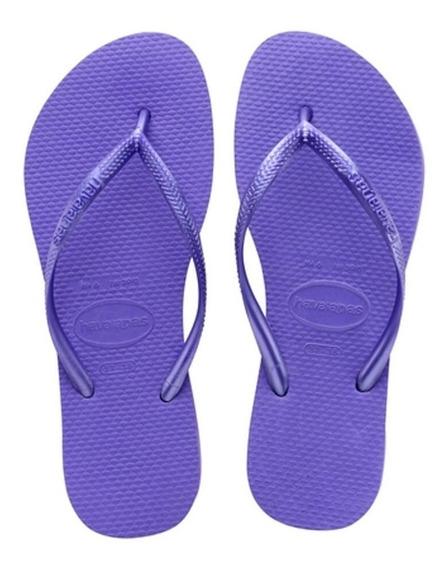 Chinelo Havaianas Slim Violeta Original