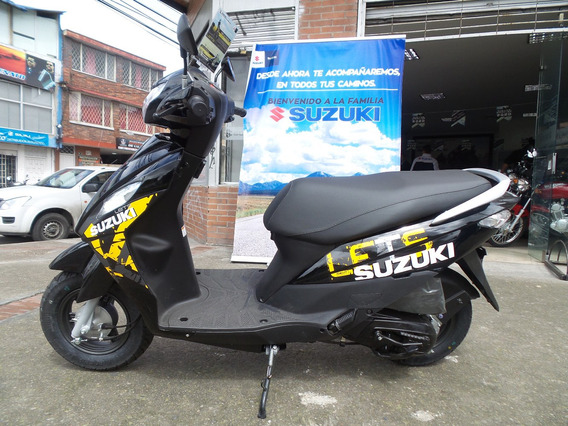 Suzuki Lets 110 Modelo 2020 0km