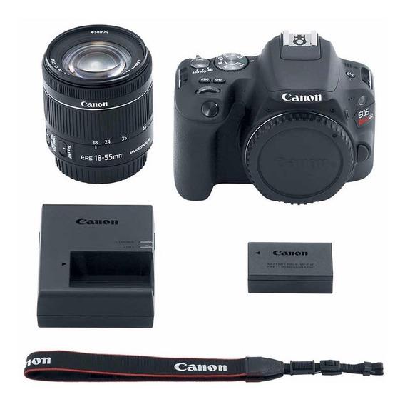 Câmera Canon Eos Sl2 Lente 18-55 Is Stm Rev. Autorizada Nfe