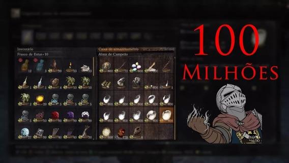 Dark Souls 3 Pc - 100 Milhões De Souls + Brindes