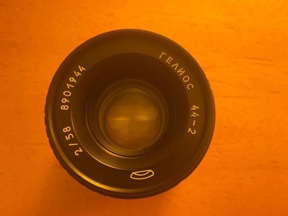Lente Helios 44-2 58mm F/2.0 Adaptador Efmount