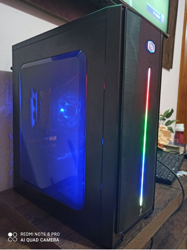 Pc Gamer Fx 6300 + Gt 1030 +  8 Gb Ram Hd 500