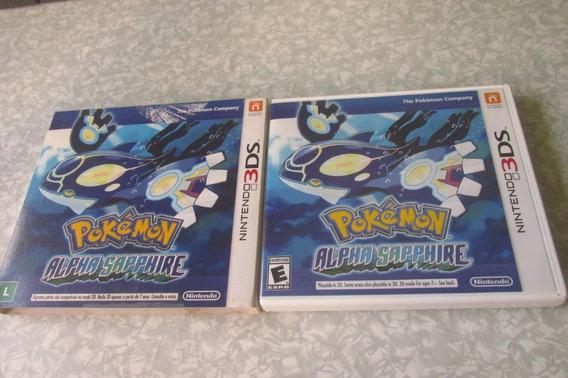 Nintendo 3ds - Pokémon Alpha Sapphire - Original Americano