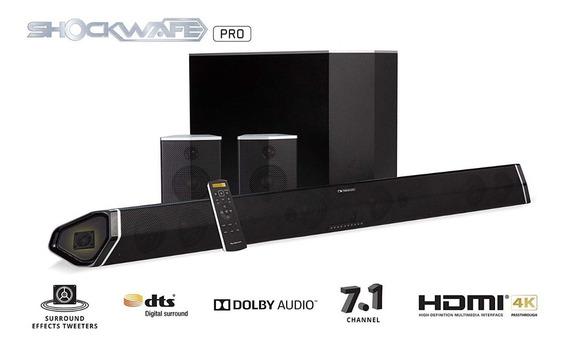Premium Soundbar Nakamichi Shockwafe Pro 7.1ch Dts X 400w