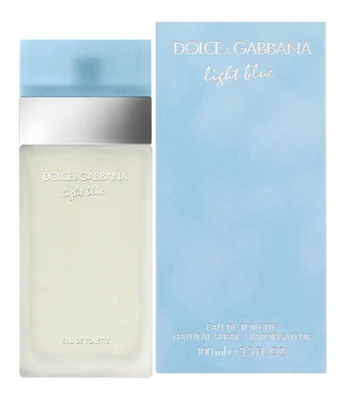 Perfume Original Dolce Gabbana Light Blue Feminino 100ml