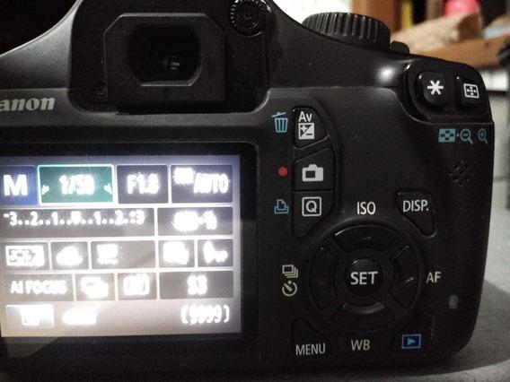 Câmera Canon T3 Com Lente 50mm