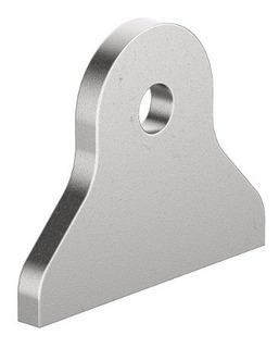 Soporte Cara Plana Oreja Con Perforacion 55 X 44 Raw Parts