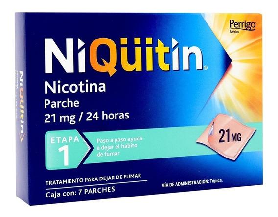Niquitin Parches Nicotina Para Dejar De Fumar Etapa 1