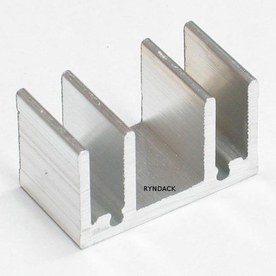 20 Peças * Dissipador De Alumínio Fnt002 15mm Para To220