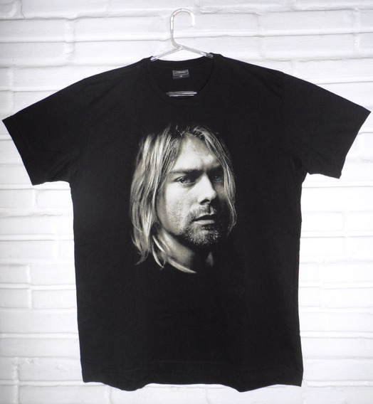 Camiseta Nirvana Kurt Cobain + Baby Look Nirvana Grátis