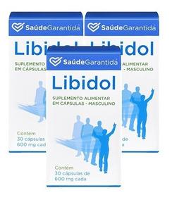 Libidol Homem Suplemento | 3 Unidades | Compre 2, Leve 3