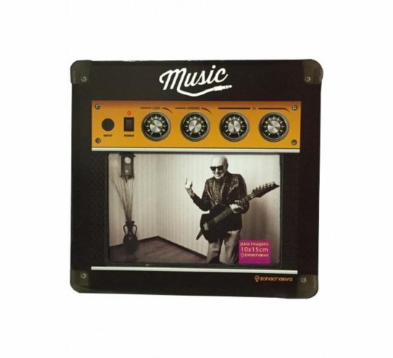 Porta Retrato Amplificador Música - Zona Criativa