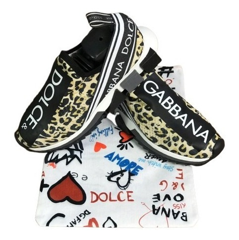 Tênis Dolce & Gabbana Masculino Feminino Moda Top Sem Frete