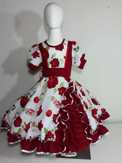 Vestido De Huasa Talla 8