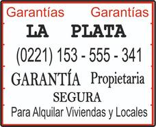 Garantía Propietaria La Plata P/alquilar Viviendas Y Locales