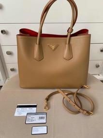 430ef26f3 Bolsa Prada Double Bag - Bolsas Femininas no Mercado Livre Brasil