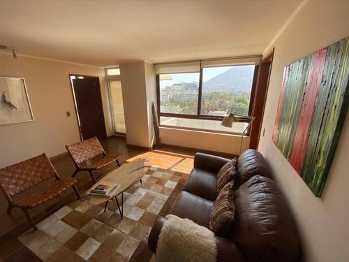 Luminoso Departamento Con 2 Dorms. En Suite, Amoblado.