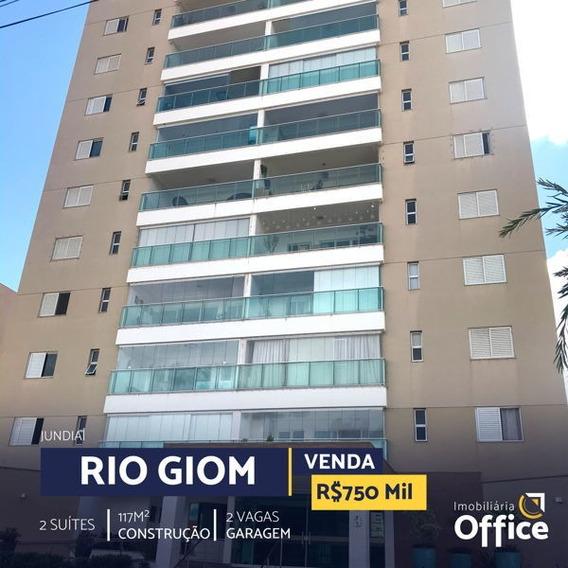 Apartamento Padrão Com 2 Quartos No Jundiaí - Rio Giom - Off393-v