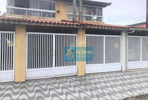 Casa Com 3 Dormitórios À Venda, 88 M² Por R$ 220.000 - R3vs101c - Vila Sônia - Praia Grande/sp - Ca0012