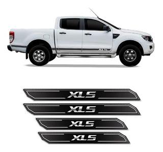 Kit Soleira Da Porta Diamante Resinada Ranger Xls 2013/2019