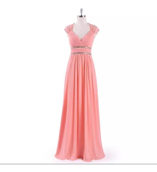 Vestido Noche Varios Colores Disp En Tallas Extra Ep-he08697