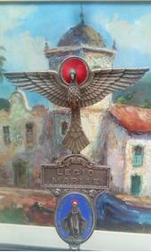 Raridade Relíquia Sacra Centenária Legio Mariae