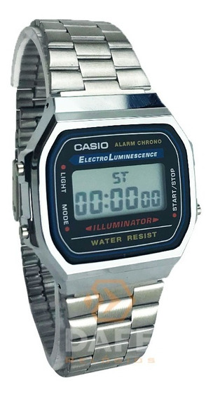 Relógio Casio A-168 Retrô C/ Caixa E Nf