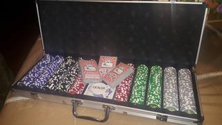 Maletin Poker 500 Fichas