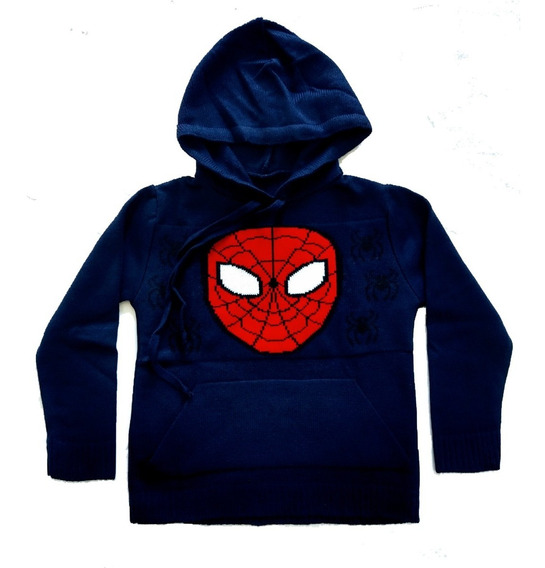 Kit 10 Casaco Blusa De Lã Com Capuz Infantil Heróis Atacado