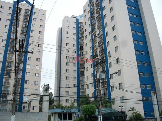 Ótimo Apartamento 2 Dormitórios Sala Com Varanda Em Itaquera - A7862