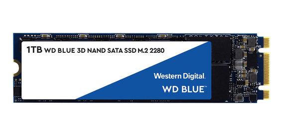 Disco sólido interno Western Digital WD Blue WDS100T2B0B 1TB azul