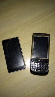 Smartfone Sony Xperia D2104 E Moblie Usado