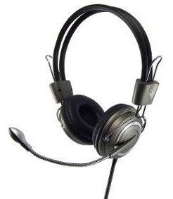 Fone Super Bass Hm-650mv Headset C/ Microfone Notebook Pc
