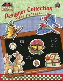 Designer Collection - 1386 Stickers - Teacher Created Materi