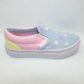Tenis Vans Classic Slip On Vn0a32qiq6r Charms Multi Embroide