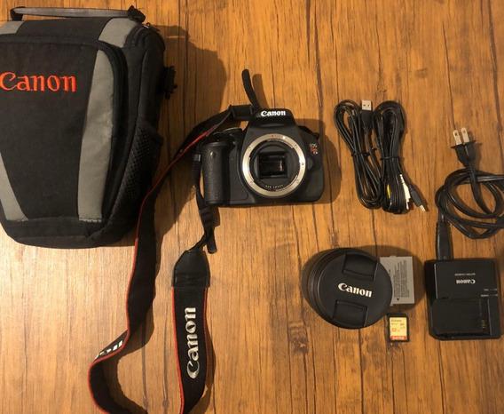 Canon T3i Com Lente 18-135mm, Cartão De Memória 32gb E Case