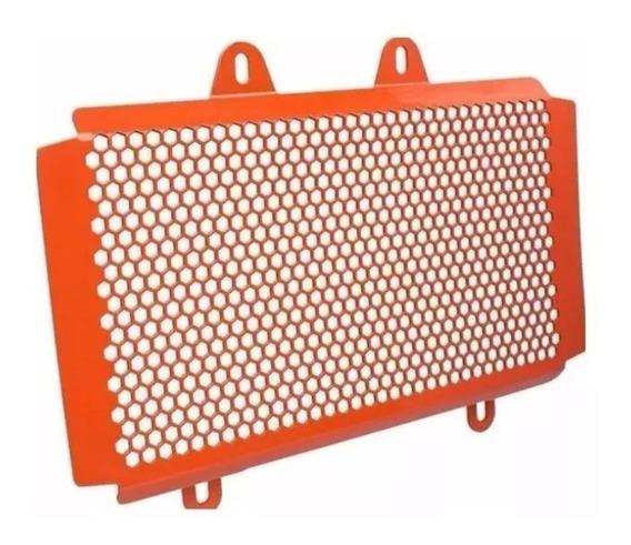 Protector Cubre Radiador Kraftec Ktm Duke 200 390 New 2017