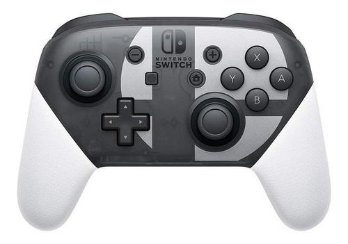 Joystick inalámbrico Nintendo Switch Pro Controller super smash bros ultimate edition